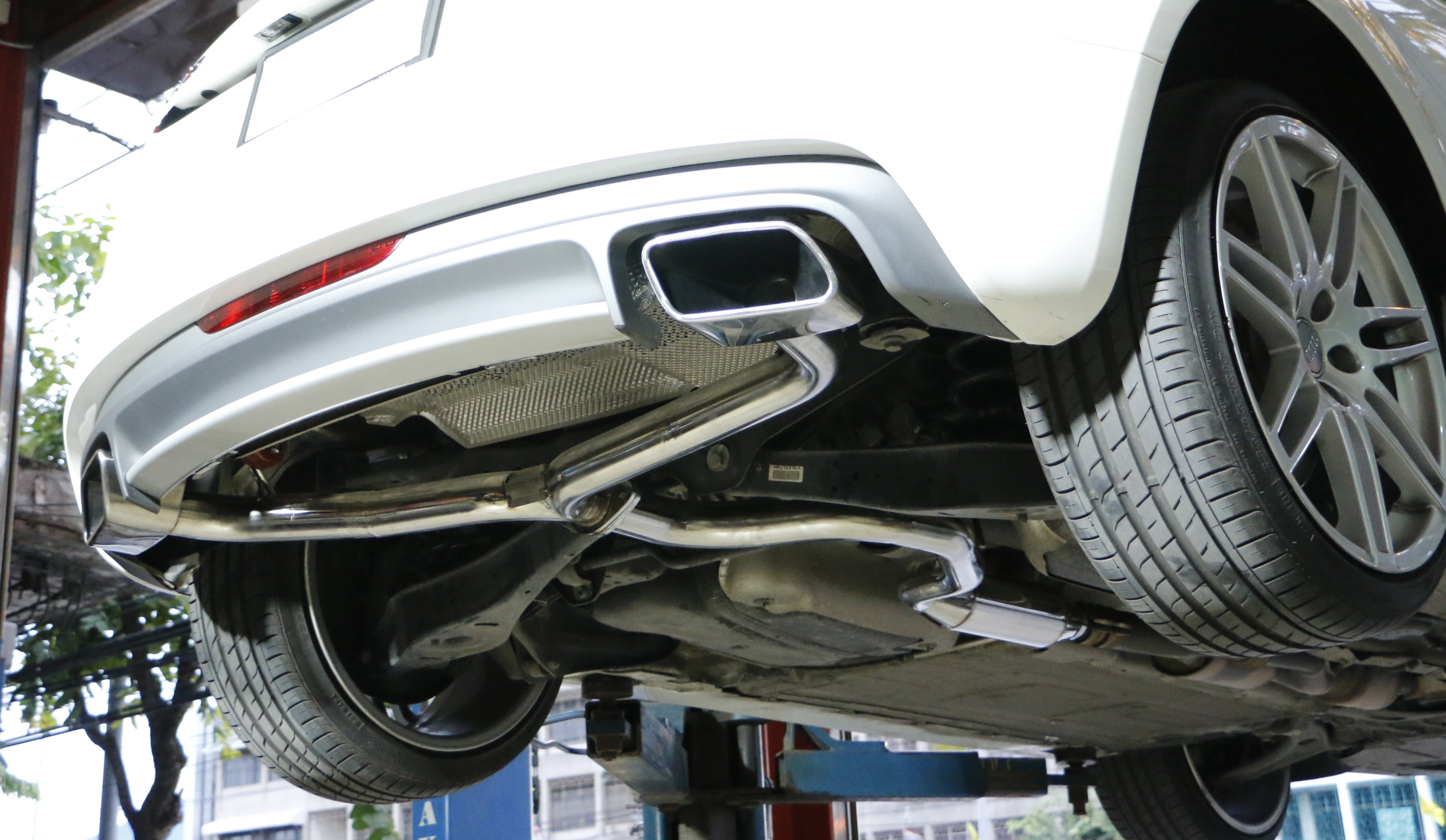 ท่อไอเสีย และวิธีการเพิ่มประสิทธิภาพรถยนต์